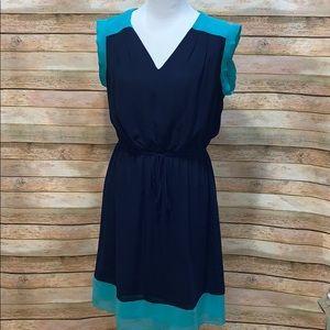 Enfocus Women blue dress